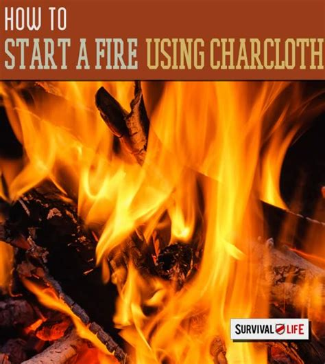 how to start a with char cloth survival