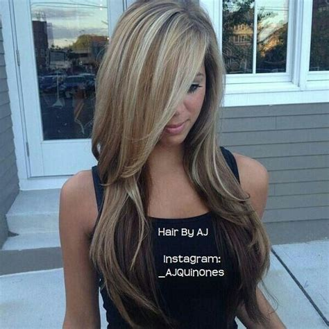 hairstyle with highlights on bottom of hair hair color highlights hair cuts ideas for women