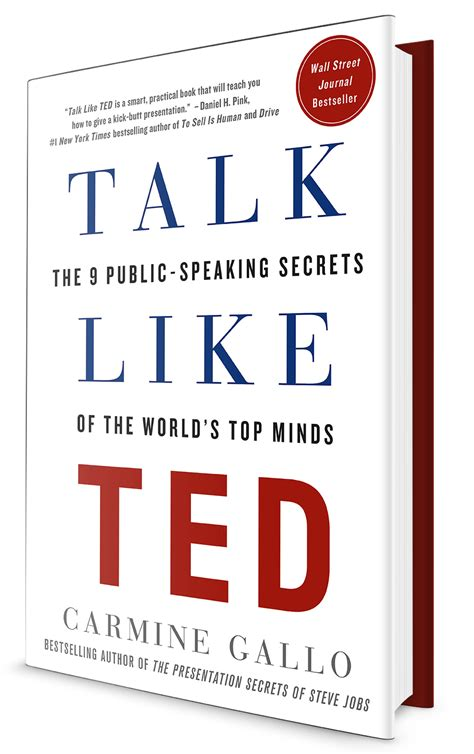 talk books carmine gallo talk like ted
