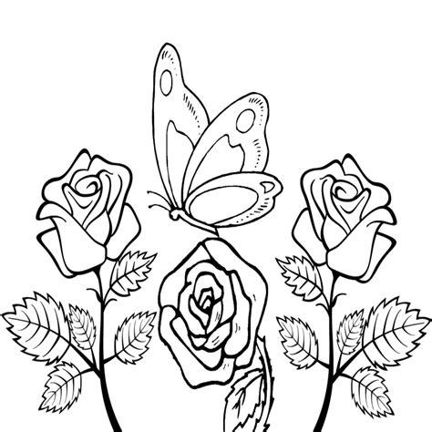 fiori da disegnare e colorare disegni belli da disegnare