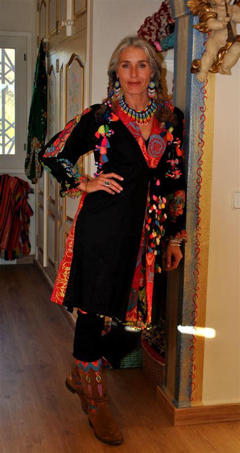 60 year old boho chic from the heart world family ibiza ibiza trendy moda