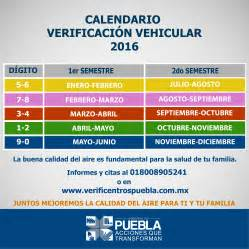 Calendario Verificacion Estado De Mexico Dan A Conocer Calendario De Verificaci 243 N Vehicular 2016