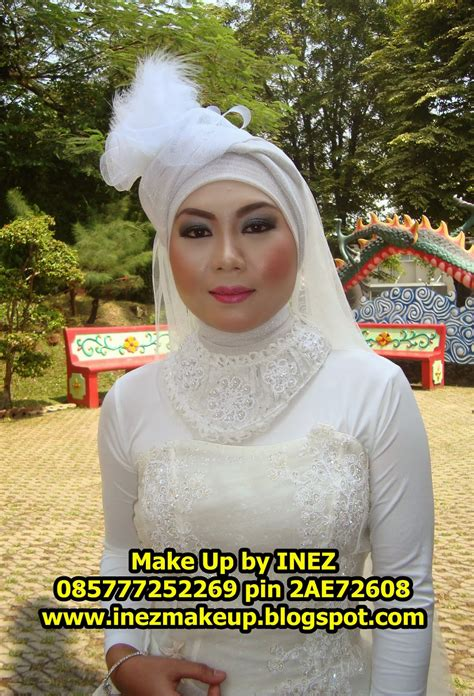 inez make up make up prewedding azizah dan awal