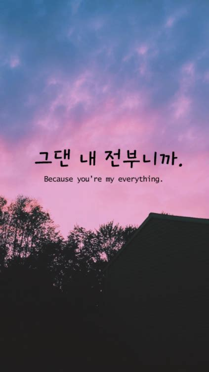 wallpaper for iphone korean words meanings lockscreens tumblr