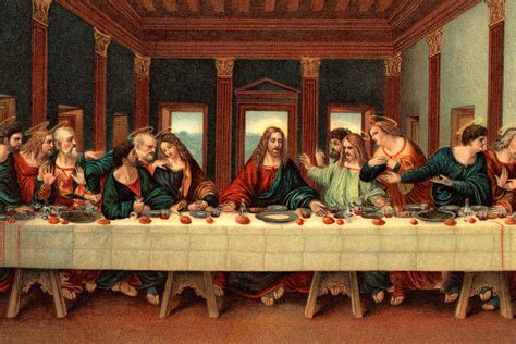 The Secret Supper the last supper bible story summary