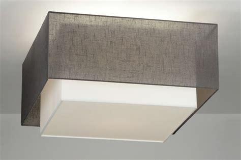 deckenleuchte stoff deckenleuchte 88539 modern design stoff anthrazit