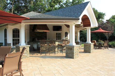 pool house cabana custom carpentry cabanas pool houses long island
