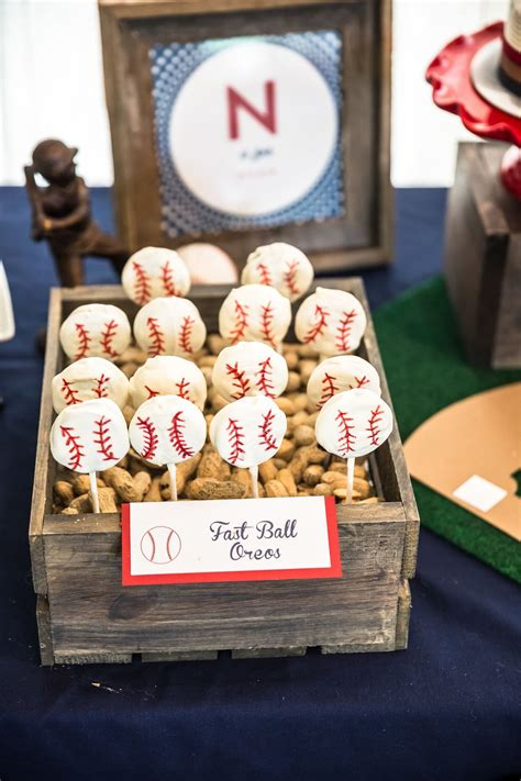 baseball themed first birthday party activities at each rookie of the year first birthday party baseball