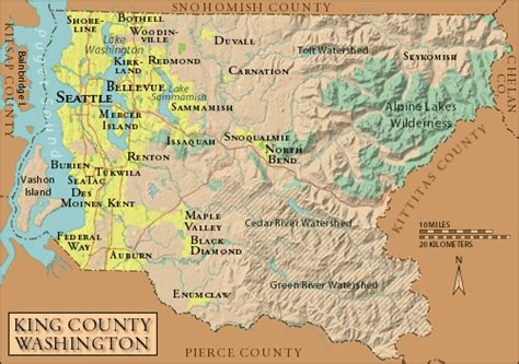 seattle map king county preserving martin luther king county s american