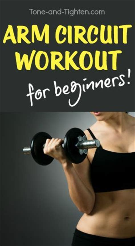 killer at home arm circuit workout you can do with just a