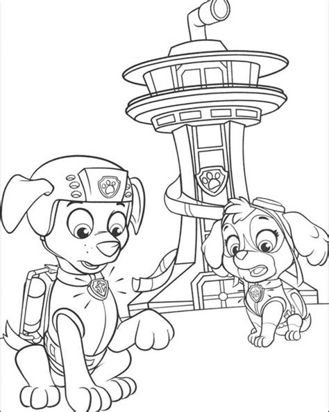 paw patrol spring coloring pages paw patrol coloring pages coloring home