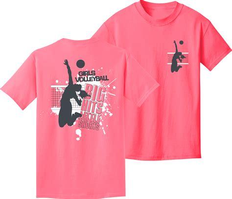 design a volleyball shirt online girls volleyball big hits little shorts neon pink short