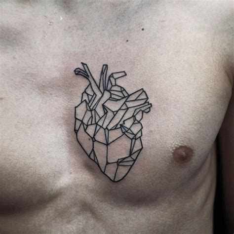 geometric heart tattoo 100 delightful tattoos designs for your