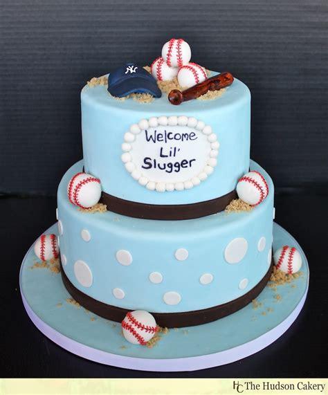Baseball Baby Shower Cakes baseball baby shower cake it s opening day the hudson