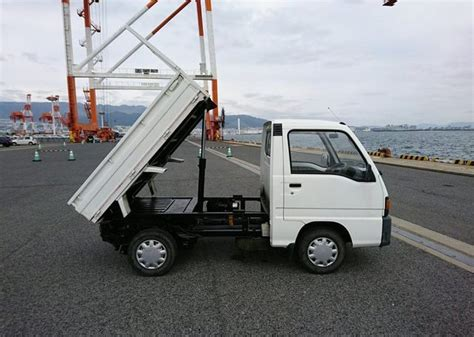 subaru mini truck lifted 1991 subaru sambar dump truck car direct import