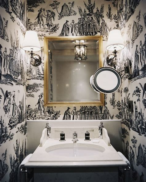 wallpapered bathrooms 30 gorgeous wallpapered bathrooms