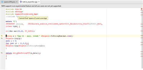 android studio jni tutorial android studio opencv problems with jni stack overflow