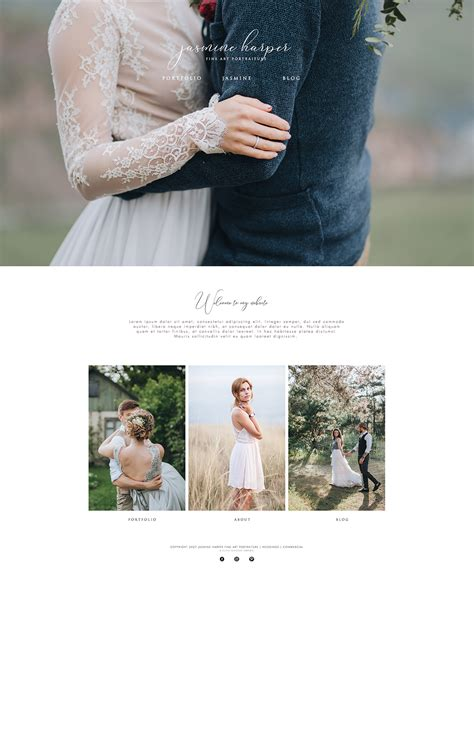 photography website templates wix wix photography website template by sun design bundles
