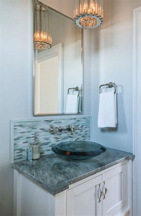 powder room backsplash ideas 580 best images about powder rooms on pinterest