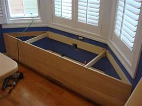 window storage bench plans window bench seat with storage plans