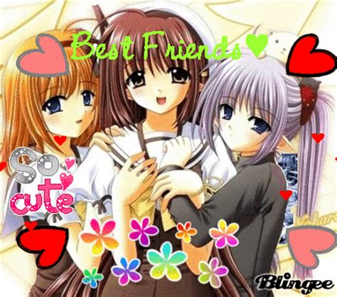 Anime 3 Friends by 3 Best Friends Anime Www Pixshark Images Galleries