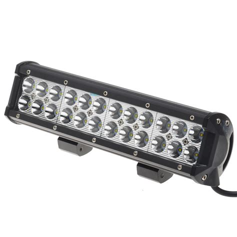 Led Light Bars For Atvs Kawell 174 72w 12 Quot Cree Dc 9 32v 6000k 5040lm 30 Degree Led For Atv Jeep Boat Suv Truck Car Atvs