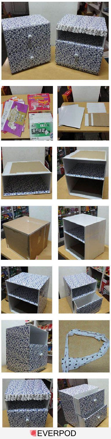 diy cardboard box storage these are cardboard drawer 19 best photos of diy cardboard drawer box cardboard