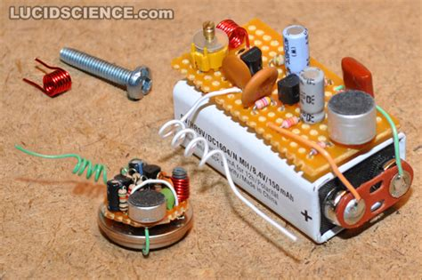 breadboard circuit taser lucidscience build the basic transmitter page 1 of 16