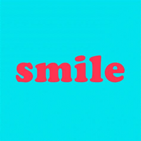 typography gif smile gif by yaki find on giphy