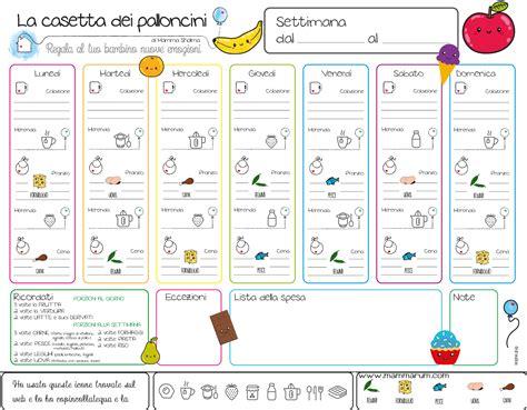 alimentazione bambini 1 anno ricette menu bambini