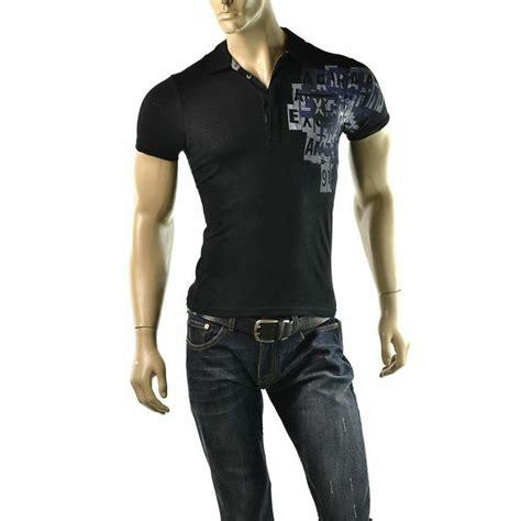 Armani Exchange Mens T Shirt Size S armani exchange polo shirt mens a x logo slubby size xs slim fit t sh