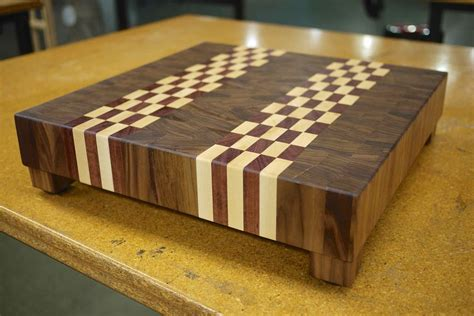how to make an end grain butcher block diy end grain cutting board plans free
