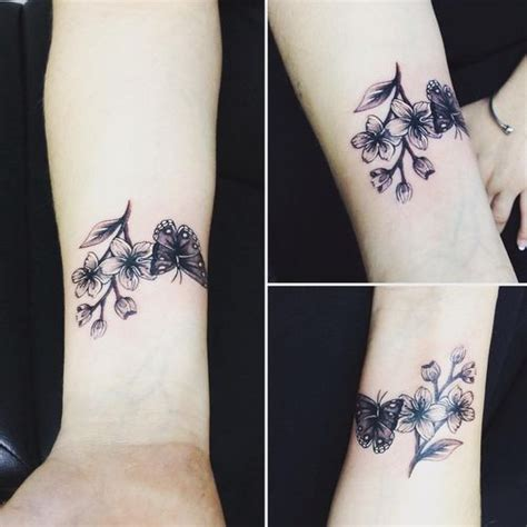 65 small cherry blossom tattoo ideas