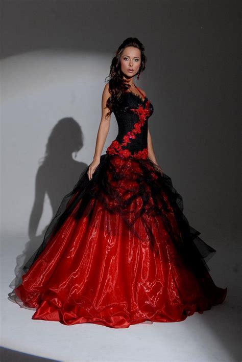 black wedding dress shop black and red wedding dress naf dresses