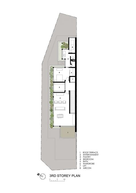 long skinny house plans long narrow house in singapore encouraging strong family
