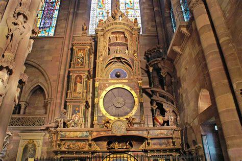 file cathedrale de strasbourg horloge astronomique jpg