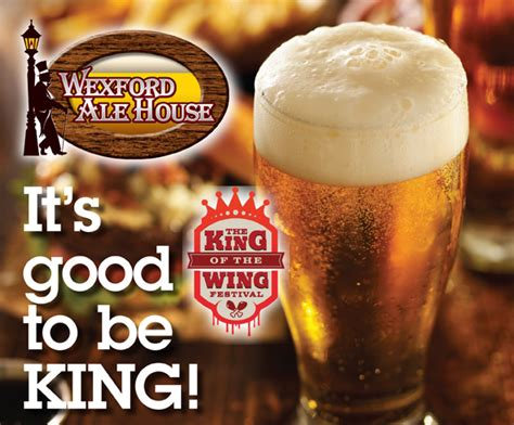 wexford ale house wexford ale house named king of the wings northern connection magazine