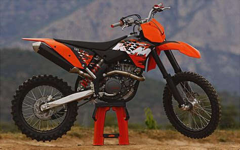 Ktm 450 Sx Top Speed 2008 Ktm 450 Sx F And 505 Sx F Motorcycle Review Top