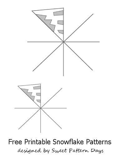 template of snowflakes cut outs printable snowflake templates to cut out classroom ideas