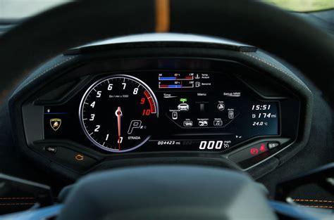 lamborghini huracan speedometer lamborghini hurac 225 n performante review 2018 autocar