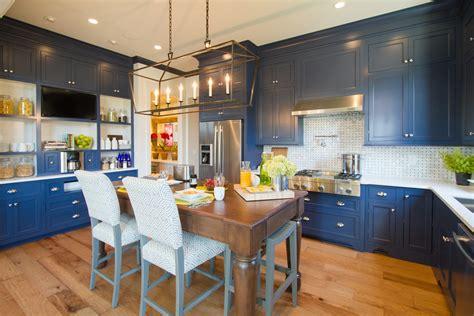 hgtv smart home kitchen cabinets  sw indigo batik