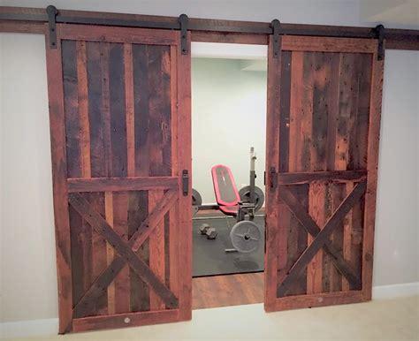 reclaimed wood barn doors baltimore md sandtown millworks