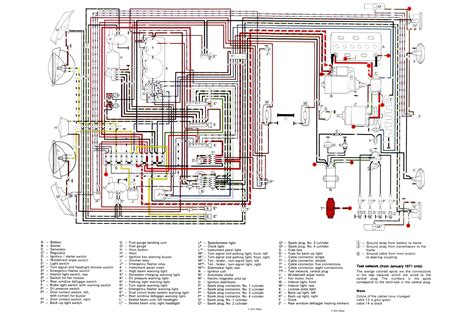 71 vw wiring diagram webtor me