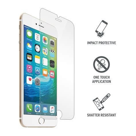 Iphone 6 Anti Motif Free Tempered Glass iphone 6 6s tempered glass screen protector