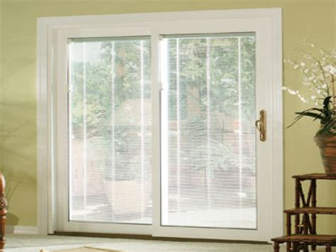 Patio Doors With Blinds Inside Glass Pella Designer Series Windows And Patio Doors With Stylish Energy Efficient Vinyl Patio Doors