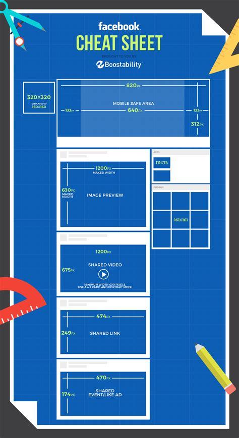 image size image sizes infographic boostability