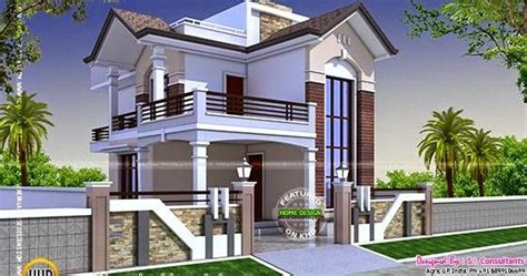 square feet small double storied house kerala home