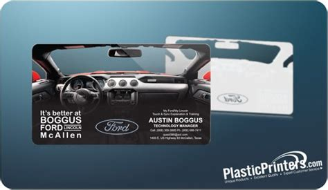 ford business card template 10 awesome plastic business card designs zac johnson