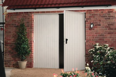 Opening For Garage Door by Side Hinged Opening Garage Doors By Kemp Garage Doors