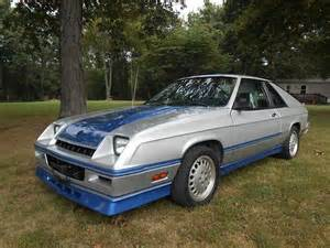 purchase used 1985 dodge charger shelby hatchback 2 door 2